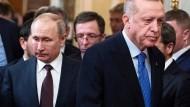 Brief aus Istanbul: Wie Erdogan und Putin sich gleichen
