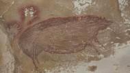 Älteste Höhlenmalerei der Welt: Steinzeitschwein