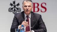 Sergio Ermotti, Vorstandschef der UBS: Seine Bank muss eine Rekordbuße sowie Schadenersatz an den französischen Staat berappen.