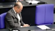 Bundesfinanzminister Olaf Scholz am 1. Juli 2020 im Bundestag
