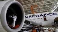 Noch in Diensten von Air France: Doch die französische Fluggesellschaft verabschiedet sich schrittweise von ihren A380