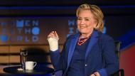 Hat Spaß: Hillary Clinton