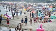 Der Timmendorfer Strand Ende Juni