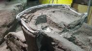 Pompeji: Triumphwagen mit erotischen Abbildungen ausgegraben