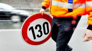 In Deutschland umstritten: Ein Tempolimit von 130 auf Autobahnen