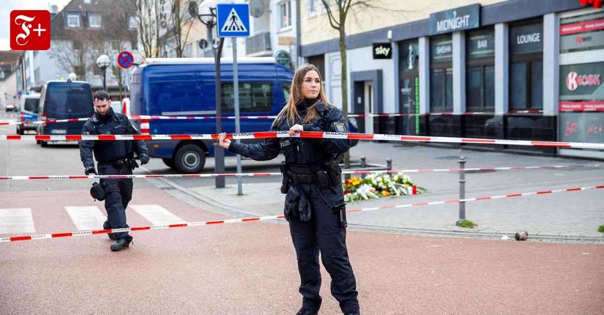 Commentary on the Hanau terror: The rule of law must remain credible