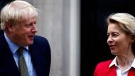 Von der Leyen und Johnson kündigen weitere Brexit-Gespräche an