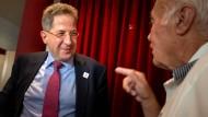 """""""Ich hatte mich sehr über die klaren Worte von Herrn Schäuble gefreut"""", sagte Maaßen am Freitag der F.A.Z."""