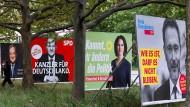 So spannend wie lange nicht mehr: Zwischen SPD und Union ist es ein Kopf-an-Kopf-Rennen