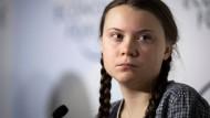 Am 25. Januar spricht Klimaktivistin Greta Thunberg auf dem Weltwirtschaftsforum in Davos – seither steht sie in der internationalen Öffentlichkeit.