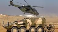 Militär ist nicht genug: Deutsche Truppen bei einer Übung in Mazar-i-Sharif (Archivbild)