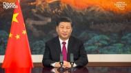 Präsident Xi Jinping, zu sehen am 25 Januar in Peking, hat am Dienstag die Veröffentlichung der Wahlrechtsänderung verfügt.