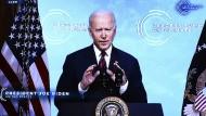 Präsident Biden im April beim virtuellen Klimagipfel