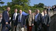 Da hielten sie noch zusammen: Meuthen, Gauland und Vertreter des Flügels beim Kyffhäusertreffen der AfD