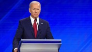 Joe Biden bei der Debatte der Demokraten am 12. September in Houston