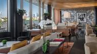 Luxus ja, aber bitte so puristisch wie möglich: Die Lobby des Bulgari Resort Dubai.