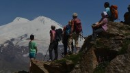 """Ein Gipfel für die """"bucket list"""": der Elbrus, 5642 Meter hoch"""