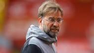 """""""Schwer zu ertragen"""" war das Remis gegen Newcaslte für Liverpool-Trainer Jürgen Klopp."""