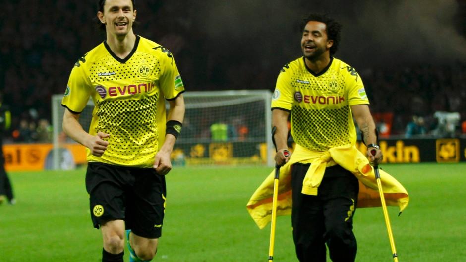 Bilderstrecke zu: DFB-Pokalfinale: 5:2 - Dortmund bleibt Bayerns