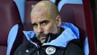 """Manchester City, der Klub von Pep Guardiola, zeigt sich """"enttäuscht, aber nicht überrascht""""."""
