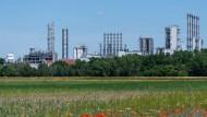 Chemiefabrik von Wacker in Sachsen.