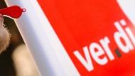 Verdi ruft zum Streik auf.