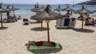 Der Strand von Cala Major auf Mallorca