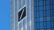 Die Hauptzentrale der Deutschen Bank in Frankfurt