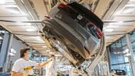 Modell mit Zukunft: VW-Elektroautoproduktion in Zwickau