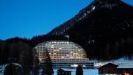 """Das Hotel """"Intercontinental"""" in Davos: Hier schläft Donald Trump"""