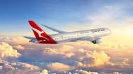 Mit solch einer Langstrecken-Boeing des Typs 787 sollen die Rundflüge durchgeführt werden (künstlerische Darstellung).