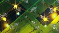 Künstlerische Darstellung eines neuronalen Netzwerkes, das Lichtreize verarbeitet.