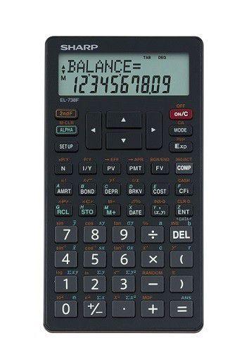 Sharp El 738fb Advanced Financial Calculator Buy Online