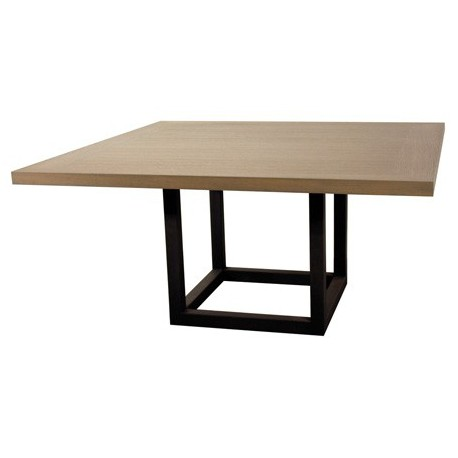 table carree design zoe pour salle a manger ph collection