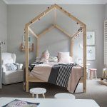 Four Poster Bed With House Shaped Wooden Buy Image 12435866 Living4media