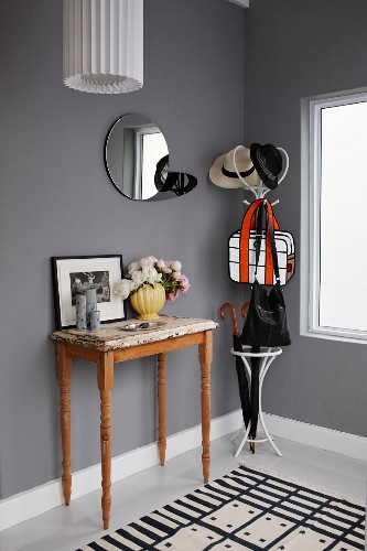 Cloakroom In Cool Black White And Grey Buy Image 11207116 Living4media
