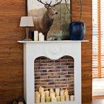 Selbstgebaute Kaminverkleidung Fur Bild Kaufen 11442295 Living4media