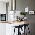 Hob And Wooden Worksurface On White Buy Image 12577415 Living4media