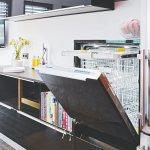 Geschirrspuler Im Hocheinbau Bild Kaufen 12353657 Living4media