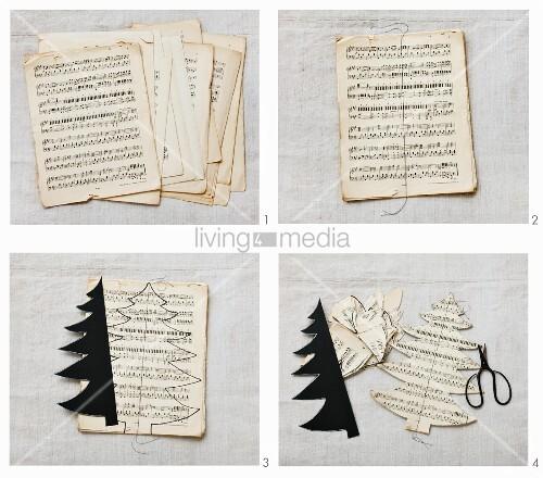 Notenblätter Zum Basteln dansenfeesten