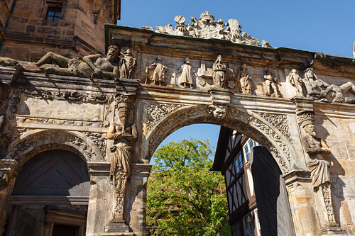 Portal, Alte Hofhaltung, bischöflicher … – Bild kaufen – 70942165 ...
