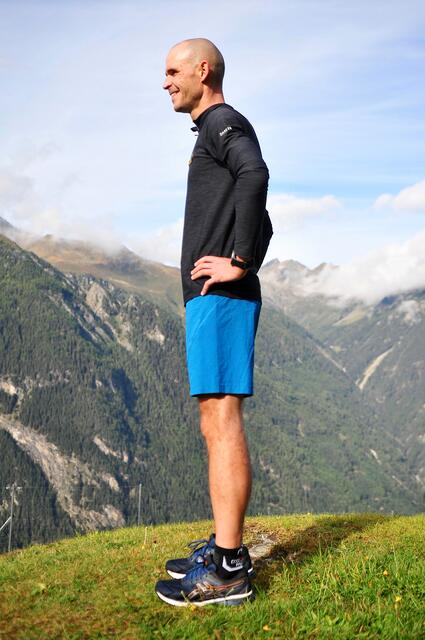 Fit for the winter with Gerald Kammerlander - Exercise 5: lunges