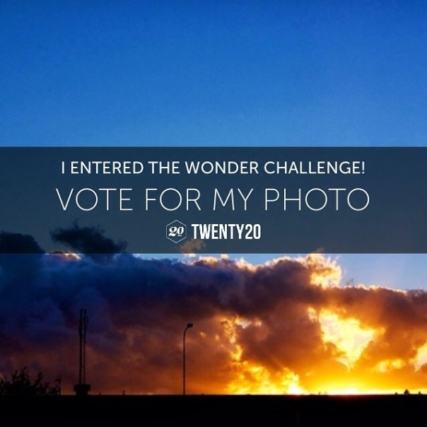 I entered the Wonder challenge. Help me win by voting for my photo! http://twenty20.com/challenges/wonder-ii?user=ade4you @twenty20app