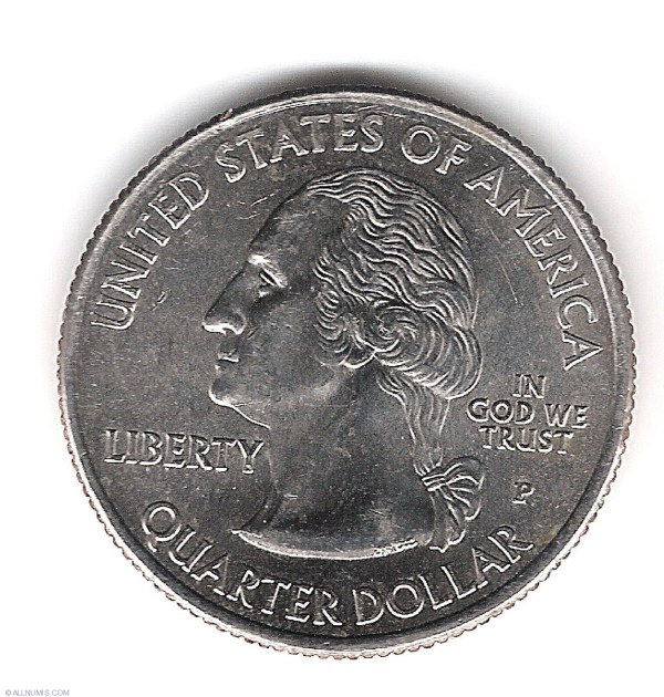 Quarter Dollar 2009 P - District of Columbia, Quarter ...