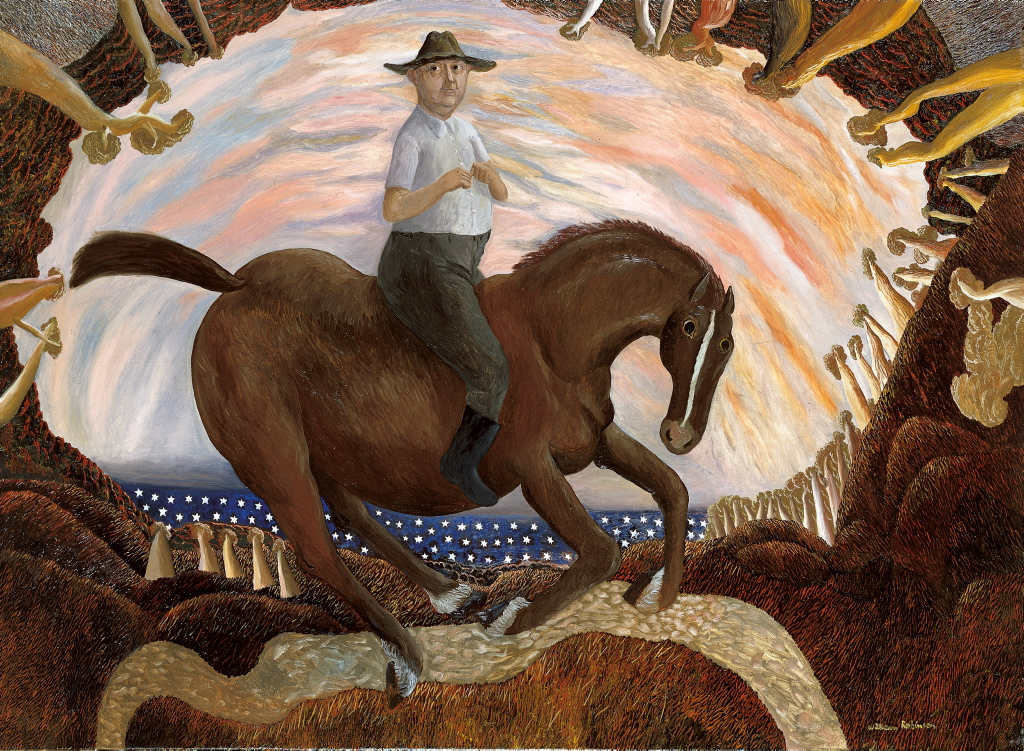 William Robinson Equestrian Self Portrait Archibald