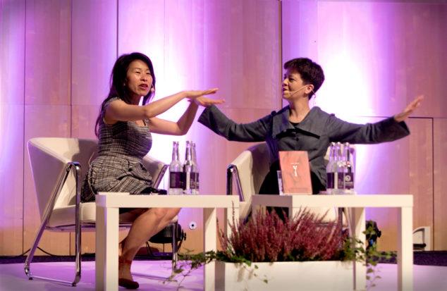 Kim Thúy och Yukiko Duke