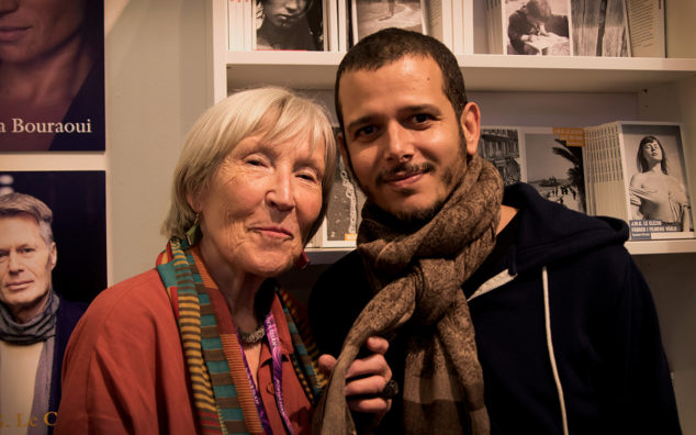 Elisabeth Grate och Abdellah Taïa