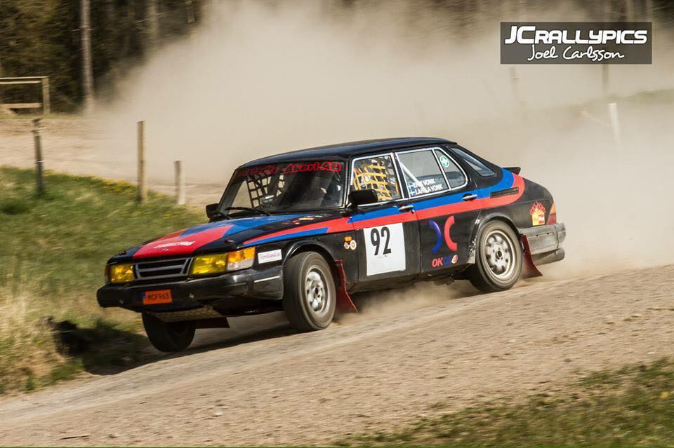 Däckstop sponsrar Vonk RallyTeam