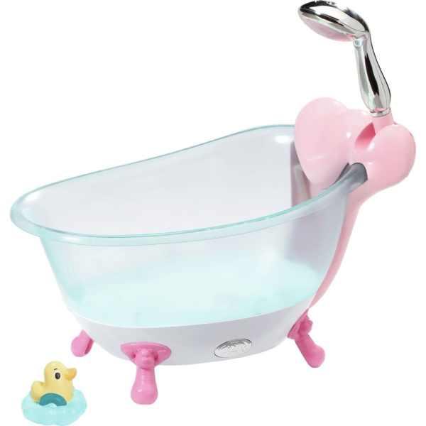 Zapf Creation Badkar till docka Baby Born rosa och blå