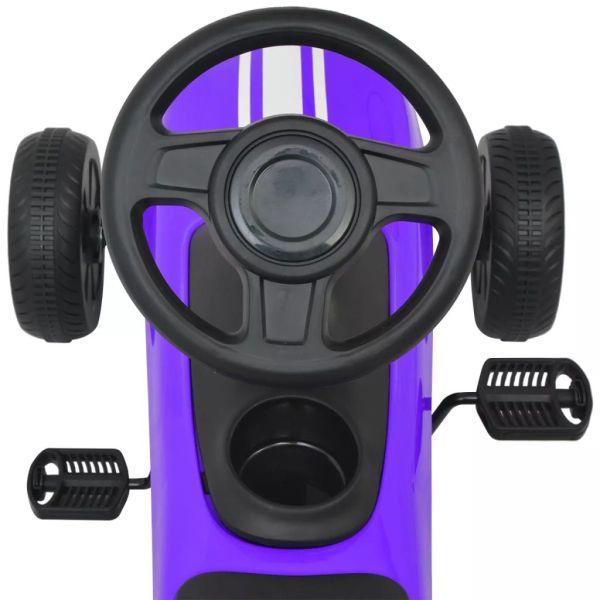 vidaXL Gokart med pedal lila